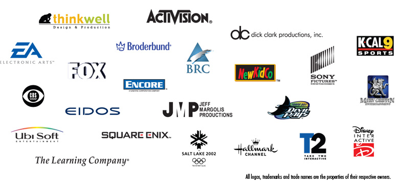 Modul8tion Media Partial List of Clients