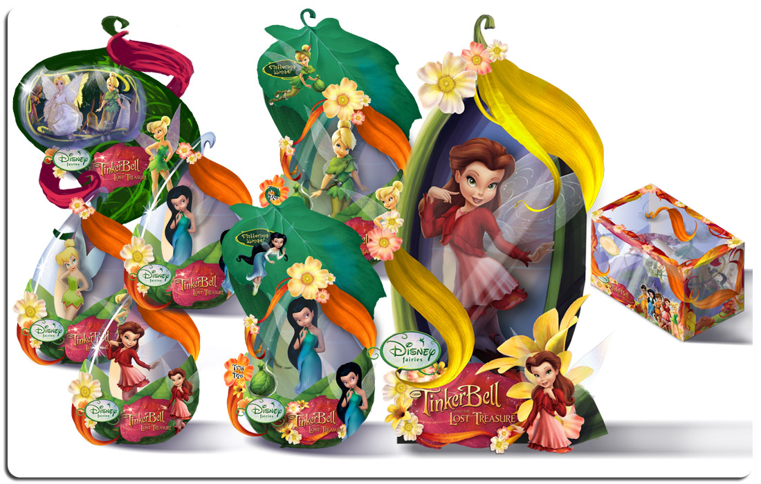 Disney Fairies Cncept Art