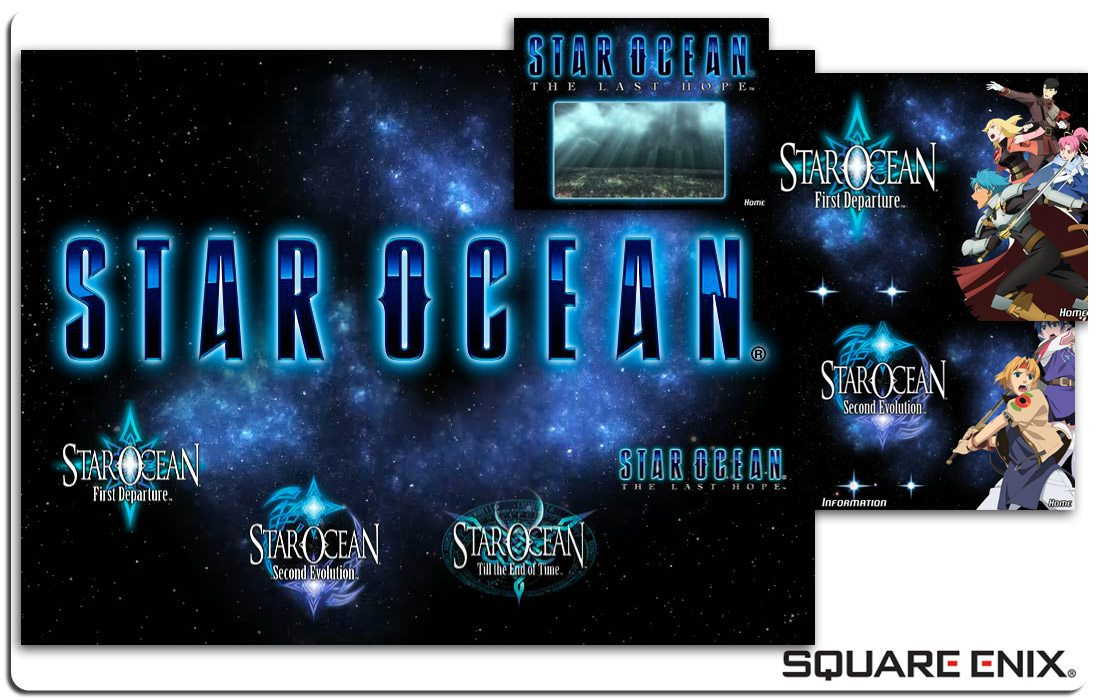 Star Ocean Splash Site