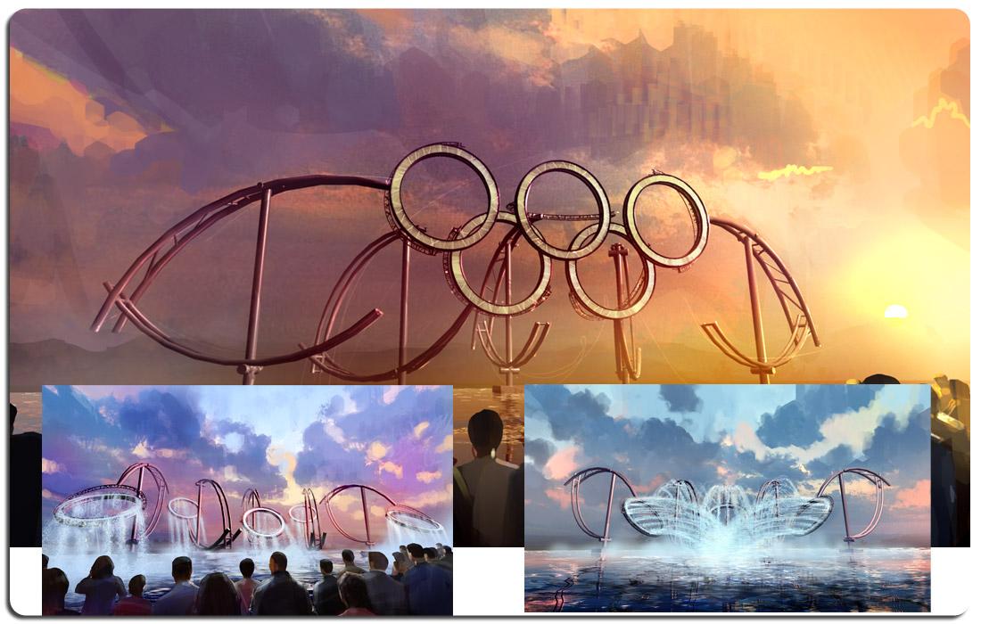 Beijing Olympics Kinetic Sculpture