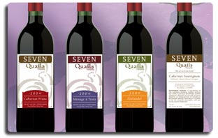 Seven Quails Winery Branding Project