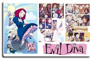 Evil Diva Comics Project