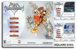 Kingdom Hearts Splash Site Project