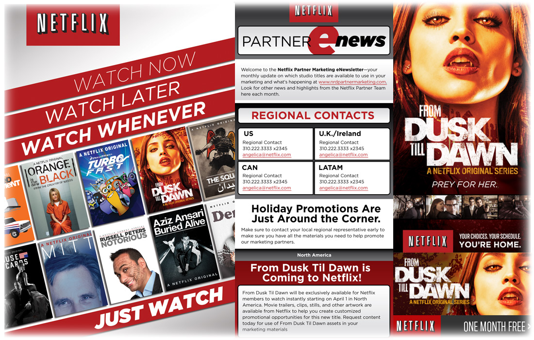 Netflix Branding and Creative